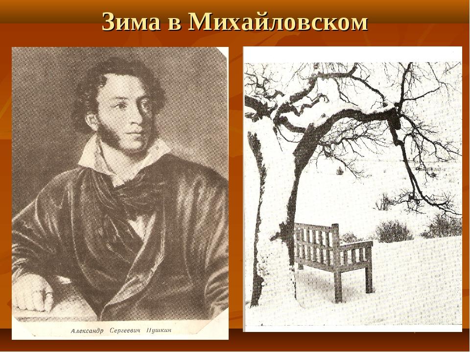 Зима в Михайловском