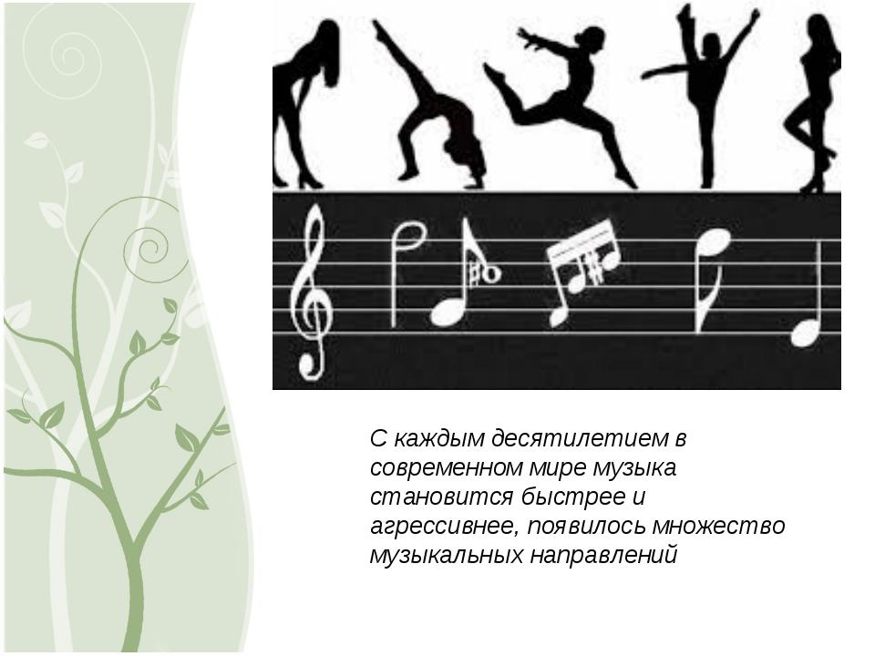 С каждым десятилетием в современном мире музыка становится быстрее и агрессив...