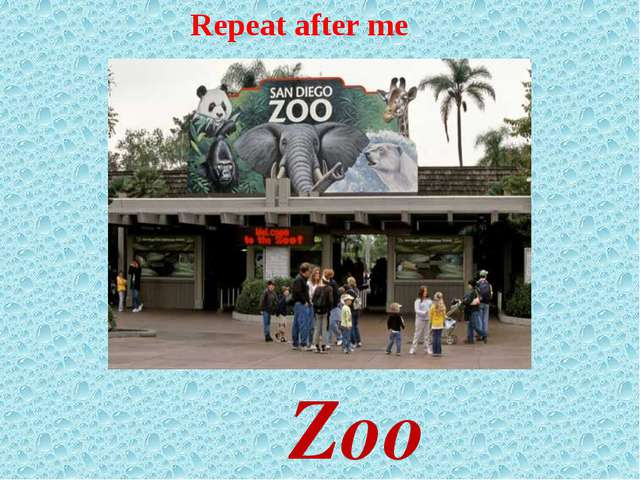 Zoo Repeat after me