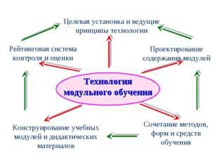 Целевая установка и ведущие принципы технологии Рейтинговая система контроля