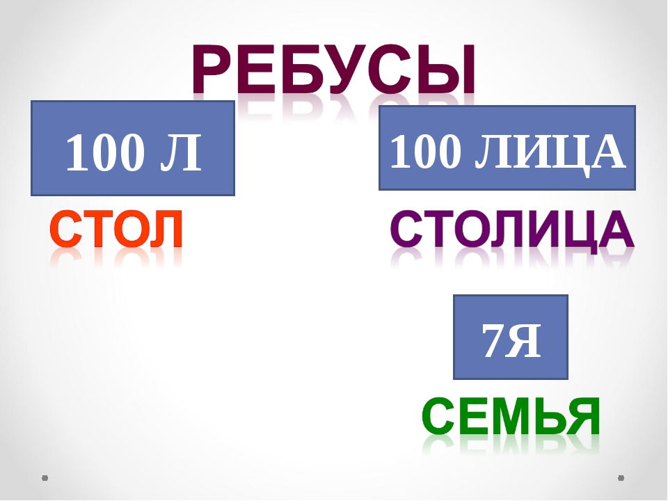 100 Л 100 ЛИЦА 7Я