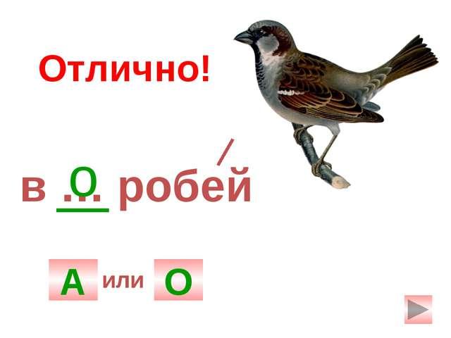 г ... рох А О о Отлично! или
