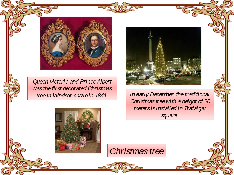 Queen Victoria and Prince Albert was the first decorated Christmas tree in W...
