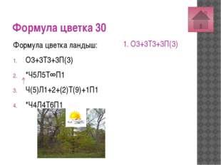 Формула цветка 50 Формула цветка дурман: О3+3Т3+3П(3) *Ч5Л5Т∞П∞ *Ч(5)Л(5)Т5П1