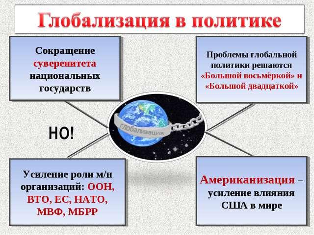 Проблемы глобальной политики решаются «Большой восьмёркой» и «Большой двадцат...