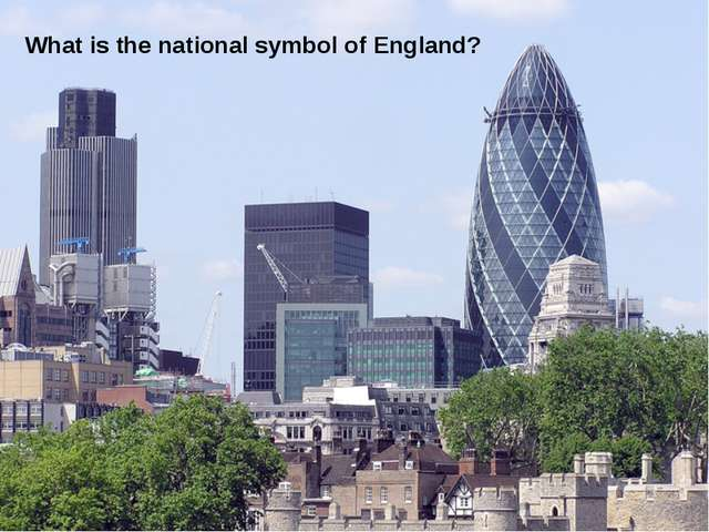 What is the national symbol of England?
