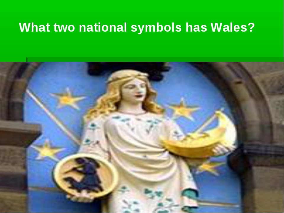 What two national symbols has Wales?