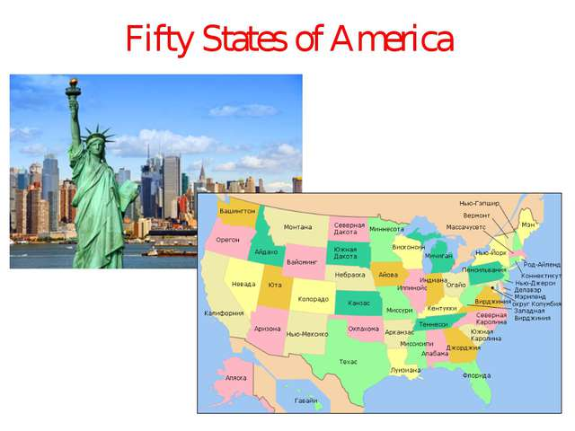 Fifty States of America