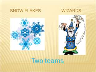 SNOW FLAKES WIZARDS