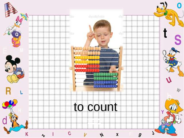 to count