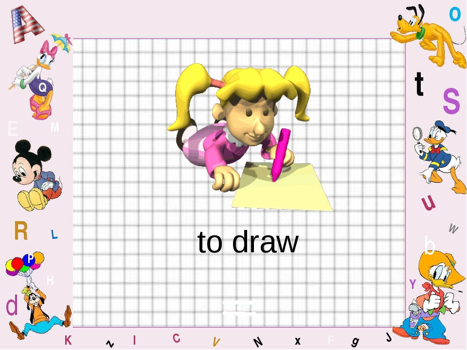 to draw