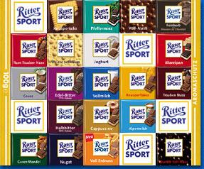Шоколад Риттер Спорт