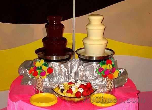 Как выглядит шоколадный фонтан