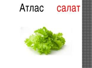 Атлас салат