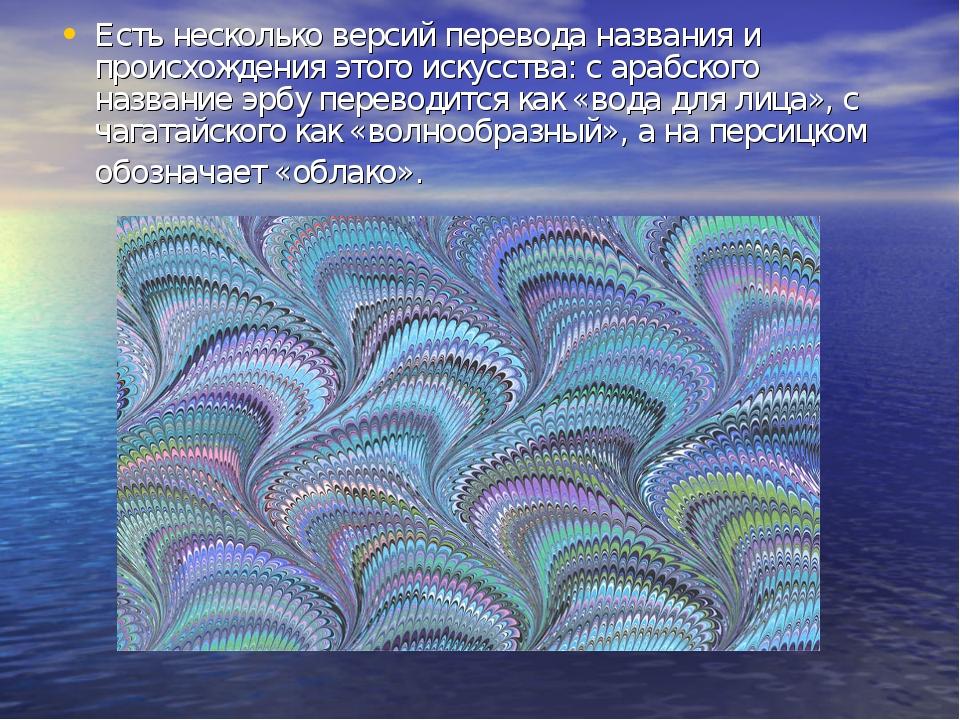 Есть несколько версий перевода названия и происхождения этого искусства: с ар...