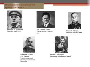 Командарм 1го ранга С. С. Каменёв. Главнокомандующий революционными силами ре