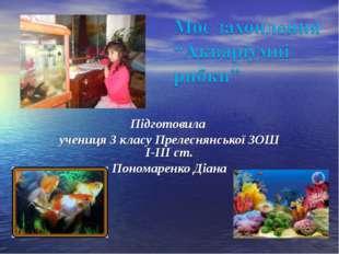 Підготовила учениця 3 класу Прелеснянської ЗОШ І-ІІІ ст. Пономаренко Діана