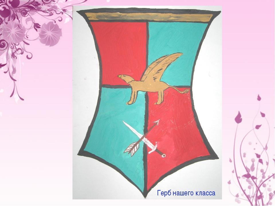 Герб нашего класса