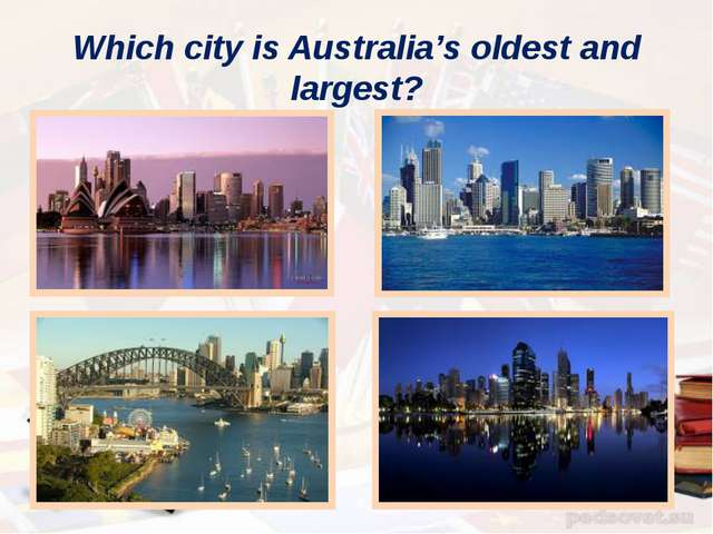 Which city is Australia's oldest and largest?