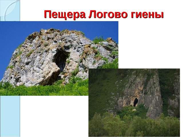 Пещера Логово гиены