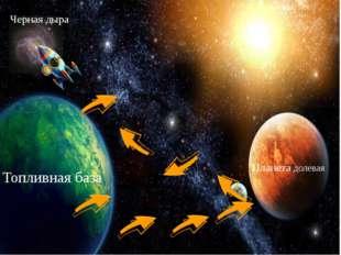 Топливная база Планета долевая Черная дыра