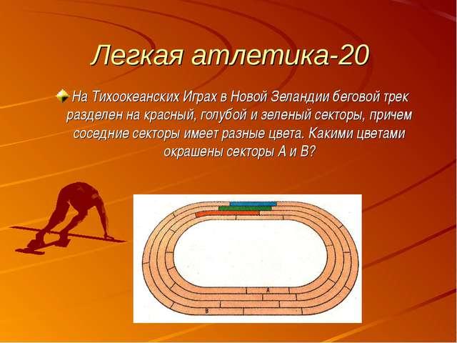 Легкая атлетика-20 На Тихоокеанских Играх в Новой Зеландии беговой трек разде...