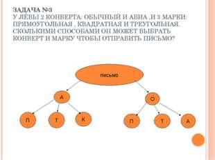 ЗАДАЧА №3 У ЛЁВЫ 2 КОНВЕРТА: ОБЫЧНЫЙ И АВИА ,И 3 МАРКИ: ПРЯМОУГОЛЬНАЯ , КВАДР