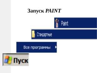 Запуск PAINT