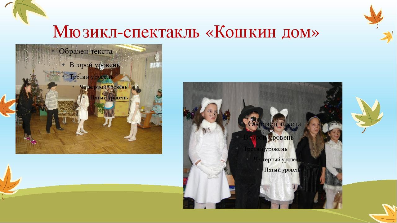 Мюзикл-спектакль «Кошкин дом»