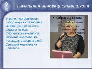 Начальная инновационная школа Учебно - методическая лаборатория «Начальная ин