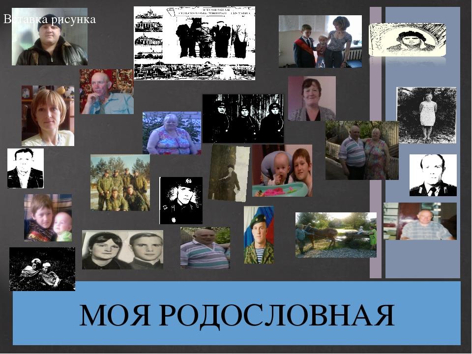 МОЯ РОДОСЛОВНАЯ Заголовок фотоальбома Щелкните, чтобы добавить дату и прочие...