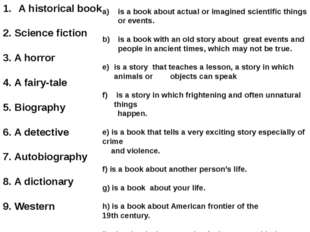 is a book about actual or imagined scientific things or events. is a book wit