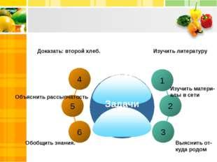 4 6 1 2 3 5 Задачи Изучить литературу Изучить матери- алы в сети Выяснить от-