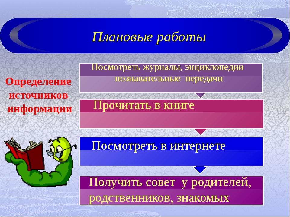 Посмотреть журналы, энциклопедии познавательные передачи Определение источни...