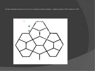 Распространение узоров на плоскости с помощью пятиугольников с двумя углами п