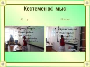 Кестемен жұмыс Аққу Алина