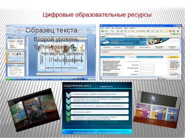 Цифровые образовательные ресурсы