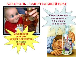 МАЛЕНЬКИЙ РЕБЁНОК МОЖЕТ ПОГИБНУТЬ от стакана ВОДКИ Смертельная доза для взро