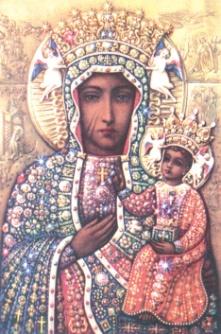 икона Божьей матери «ЧЕНСТОХОВСКАЯ» Богоматерь