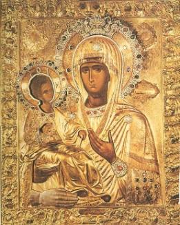 икона Божьей матери «ТРОЕРУЧИЦА» Богородицы