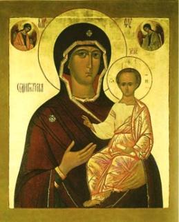 икона Божьей матери «ОДИГИТРИЯ» СМОЛЕНСКАЯ