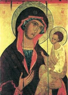 икона Божьей матери «ГРУЗИНСКАЯ»