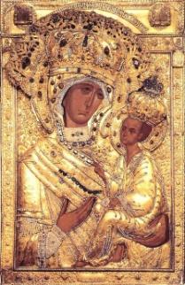 икона Божией матери «ТИХВИНСКАЯ» Богородица