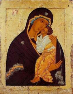 икона Божьей матери «ЯРОСЛАВСКАЯ» Богоматерь