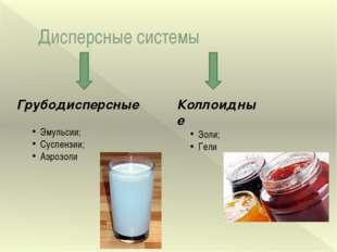 Эмульсии Водоэмульсионные краски Молоко - эмульсия жира в воде Лечебная косме