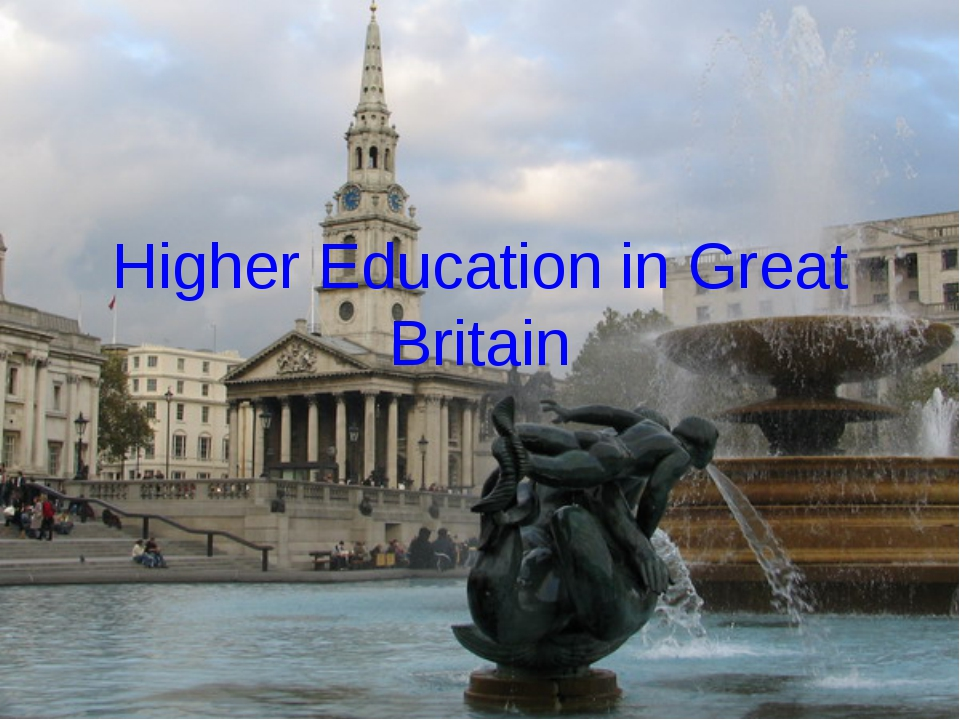 Higher Education in Great Britain