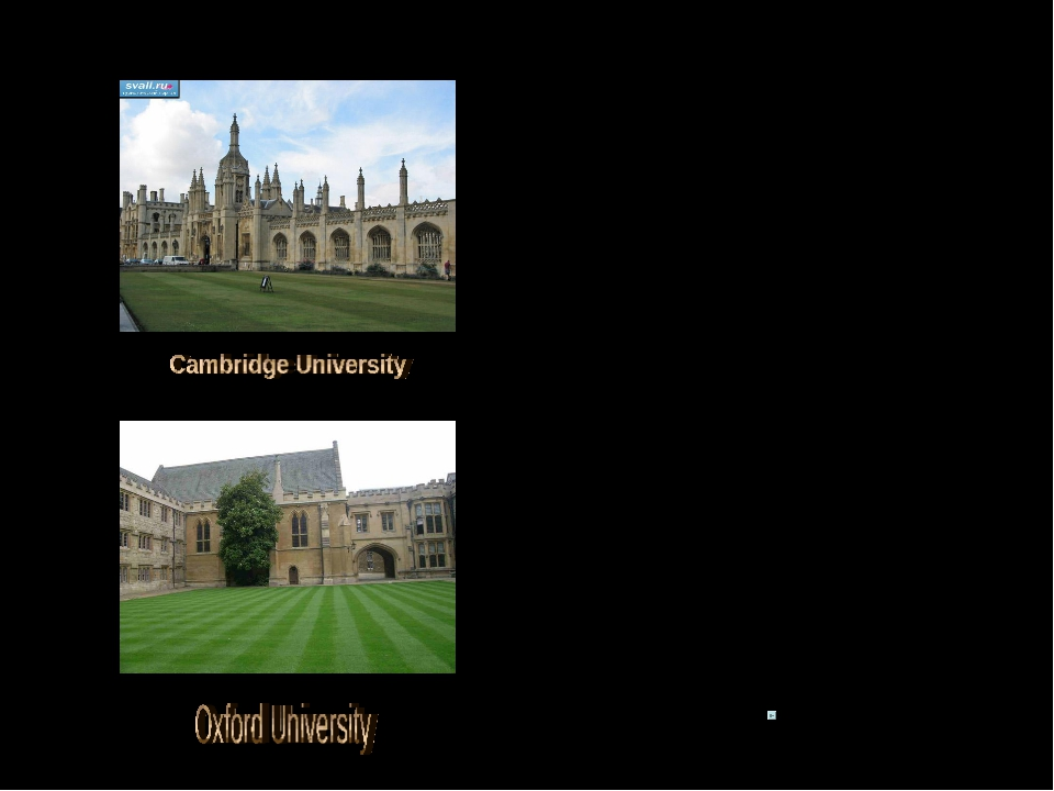 In the group of old universities Oxford (1167) and Cambridge (1209) are the o...