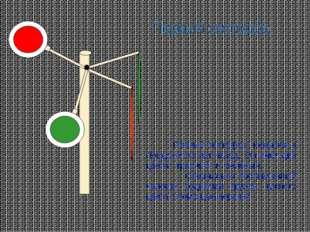 Первый светофор Первый светофор появился в Лондоне сто лет назад. Он имел два