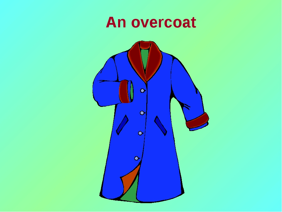 An overcoat