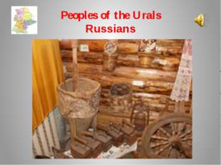 Peoples of the Urals Russians